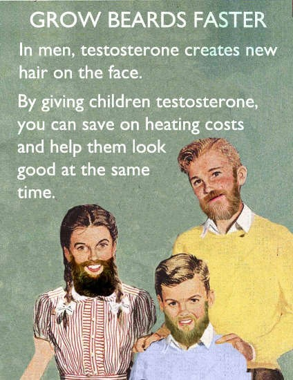Genetics beards testosterone - 7173711360