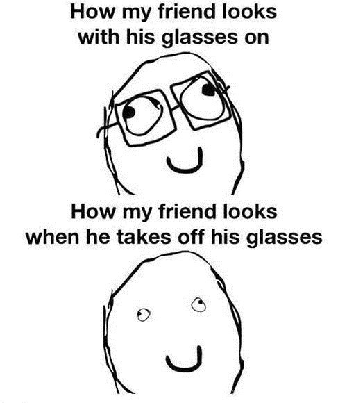 rage faces,Awkward,glasses