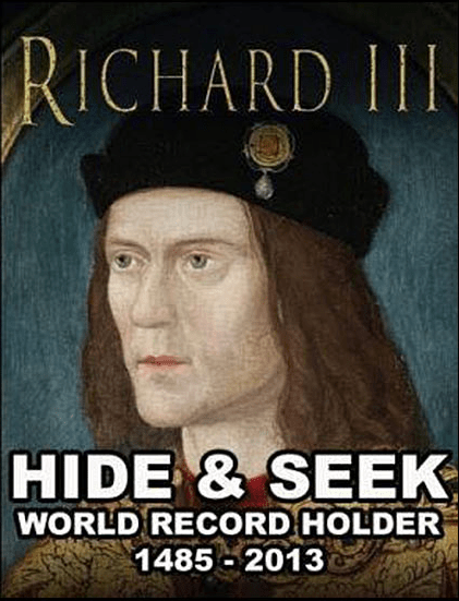 history hide & seek richard III - 7174264320