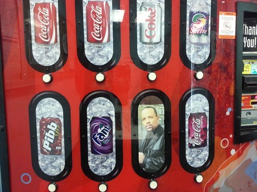 ice t puns vending machine - 7175000064