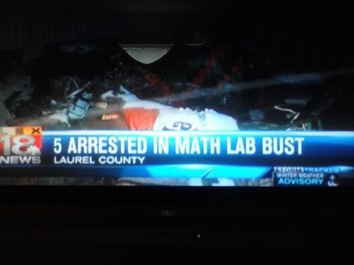 news headline spelling math