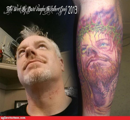 jesus arm tattoos portrait tattoos - 7175091200