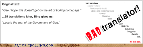 god Bad Translator memebase - 7175917312
