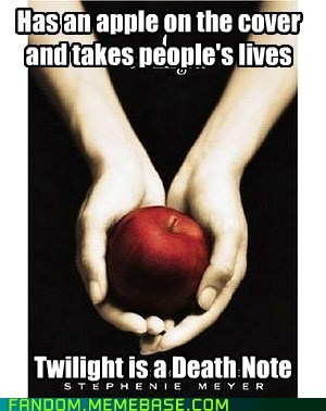 stephanie meyer twilight death note - 7180677632