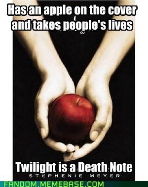 stephanie meyer twilight death note - 7180677632