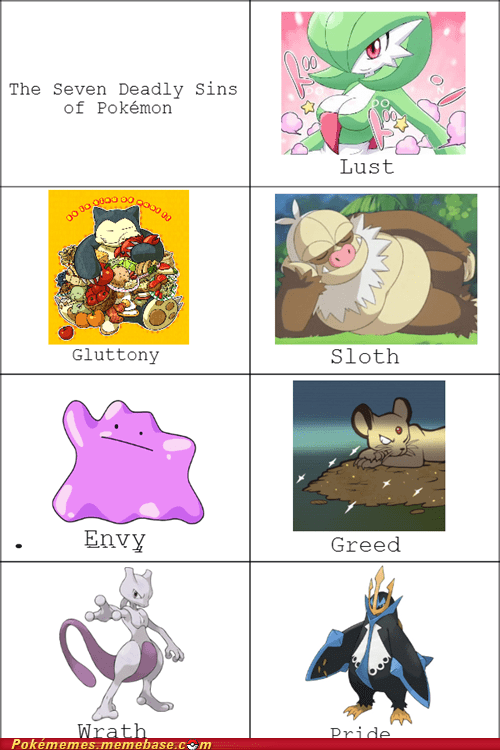 Pokémon seven deadly sins - 7180926208