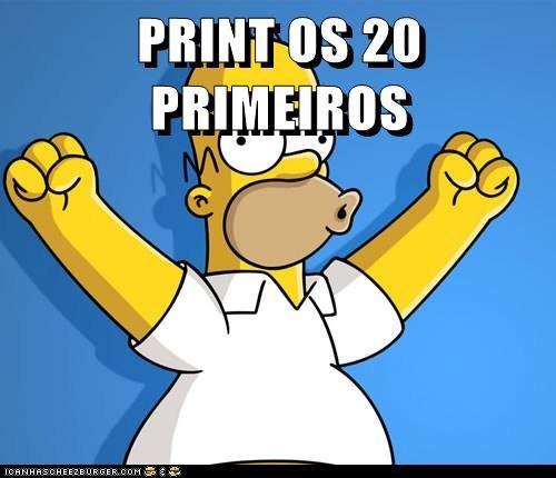 PRINT OS 20 PRIMEIROS