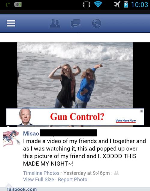 guns youtube ads gun control muscles tickets to the gun show - 7182300416