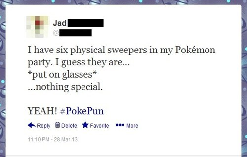 twitter puns pokepuns sweepers - 7182483200