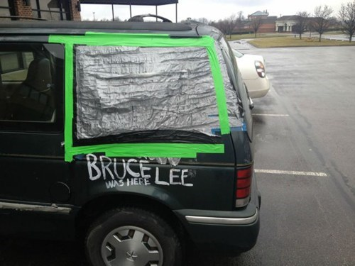 cars duct tape car repair windows - 7183803392