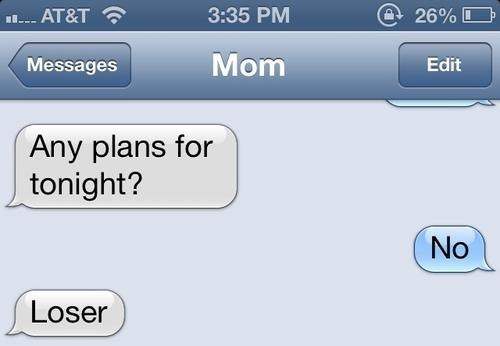 iPhones moms no plans loser