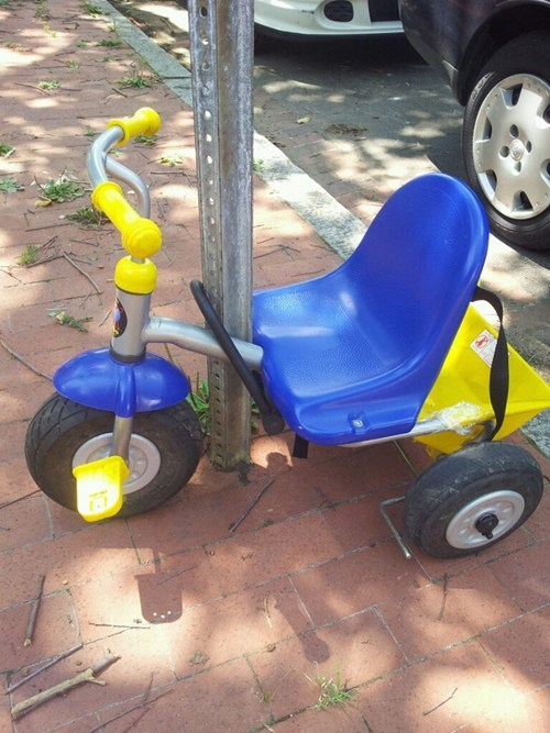 little tikes big wheels valuables - 7184794880