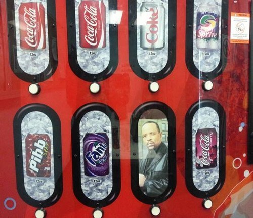 ice t,vending machines,soda