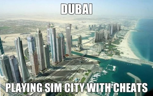 SimCity,dubai,cheats