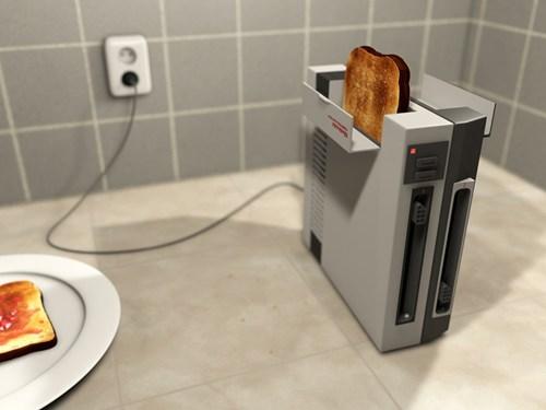 IRL toast nintendo toaster - 7186373632