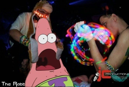 raves,light shows,patrick