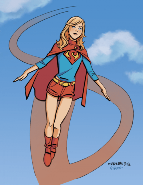 art redesign supergirl - 7186483712