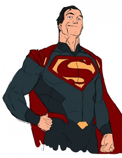 art awesome redesign superman - 7186489344
