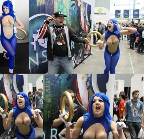 cosplay,sonic the hedgehog,sexy