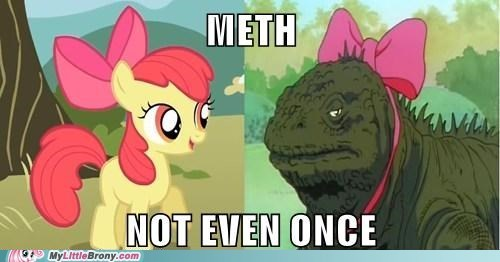 Meth-Not even once