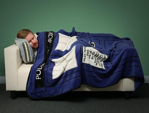 tardis nerdgasm comfy doctor who blanket - 7186709504