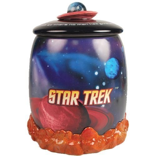 nerdgasm,Star Trek,cookie jar