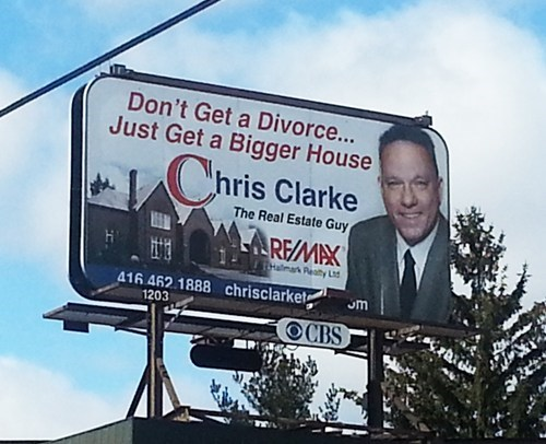 advertisement billboard relationships divorce
