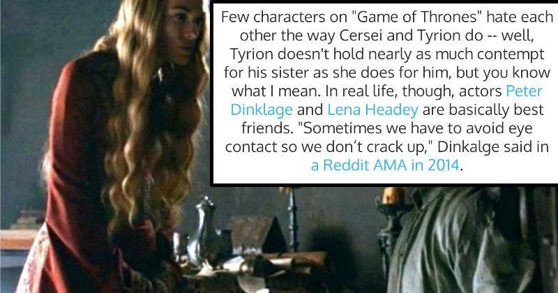 Fun Fact trivia Game of Thrones tv shows interesting - 7192325