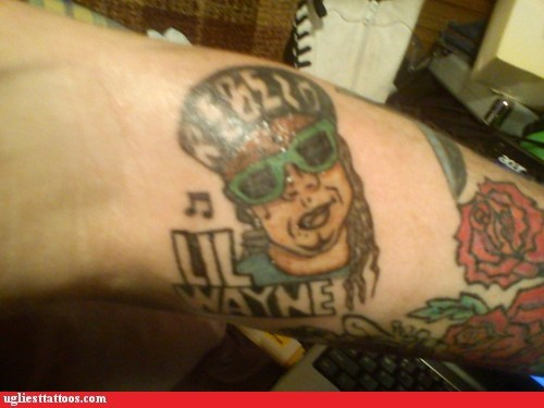 arm tattoos lil wayne roses
