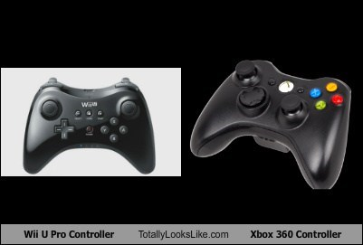 totally looks like controllers xbox 360 wii