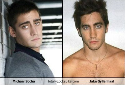 jake gyllenhaal,totally looks like,michael socha