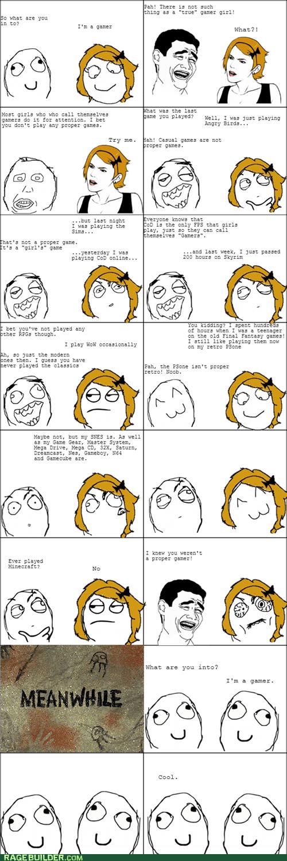 female nerds gamers nerd cred girl gamers - 7193994752