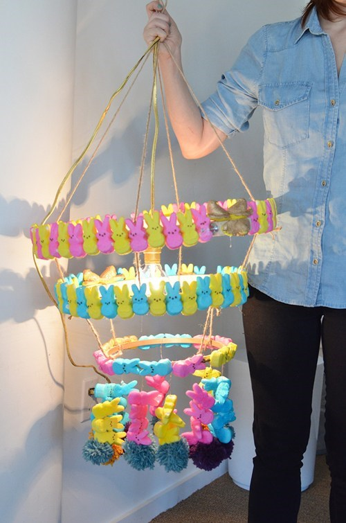 easter chandeliers peeps g rated there I fixed it - 7195958784