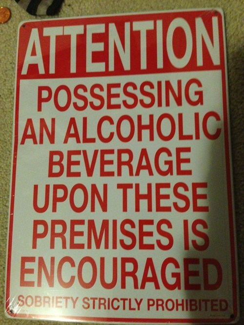 restrictions signs sobriety - 7196691456
