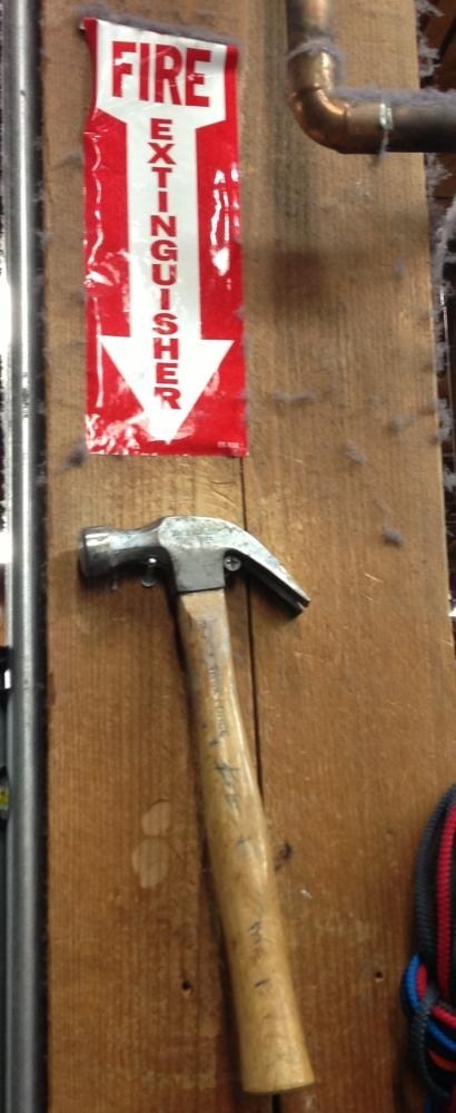 hammer fire extinguisher there I fixed it - 7196966912