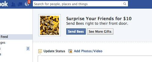 gifts facebook bees - 7197092864