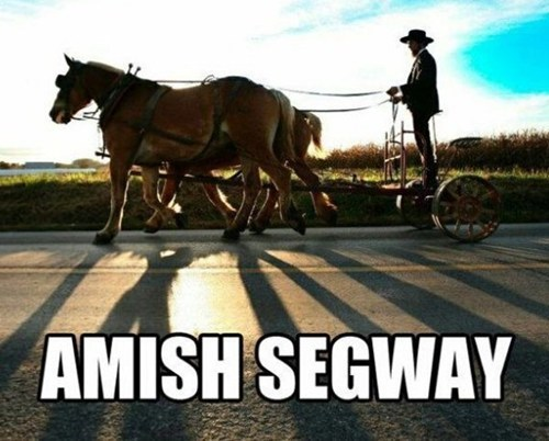 segways,amish