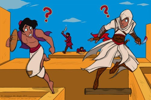 art aladdin assassins creed - 7197259776