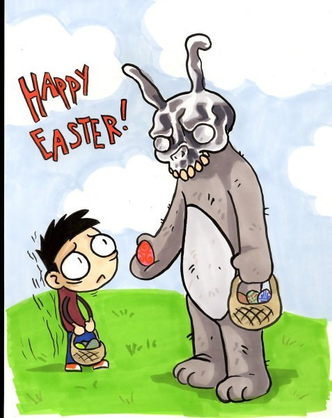 easter,donnie darko,Fan Art