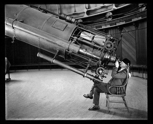 fancy Astronomy old timey science Telescope - 7198390784