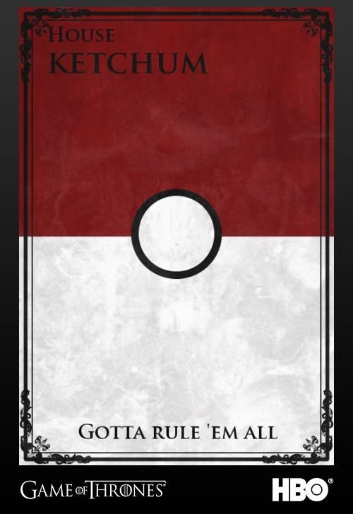 ash Pokémon hbo Game of Thrones - 7198420480