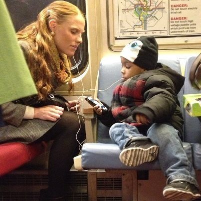 random act of kindness warm and fuzzy public transit bus - 7198479616
