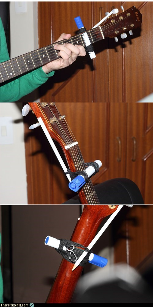Cheapest capo ever - homemade