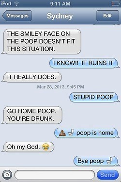 poop,ruined,emojis