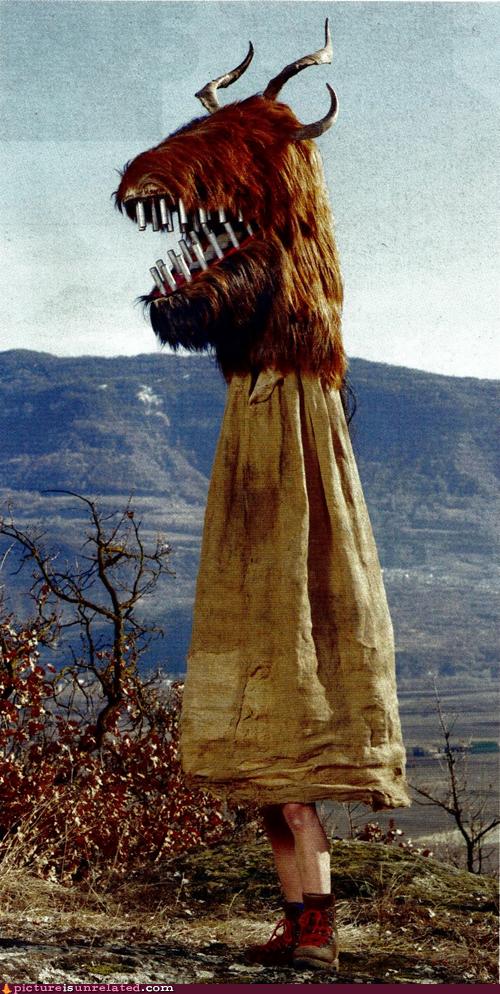 wtf costume legs monster - 7199850496