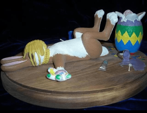 easter,bunnies,movies,alien,Easter Bunny