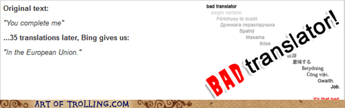 Bad Translator European union - 7200028416