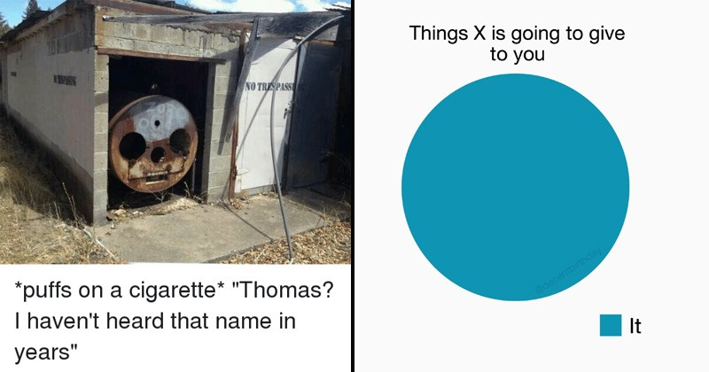 cover image about thomas the train, what X will give you