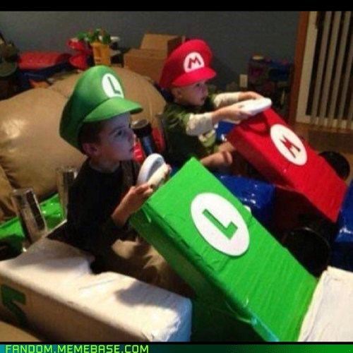 cosplay kids video games Super Mario bros - 7204458496
