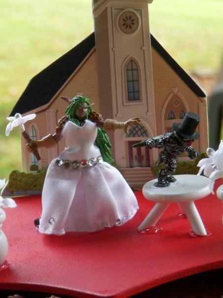 world of warcraft,video games,weddings